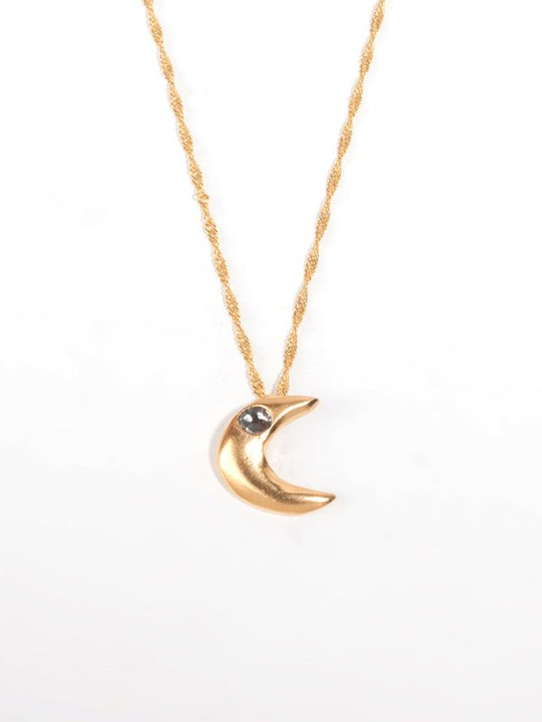 SELENA gold pendant