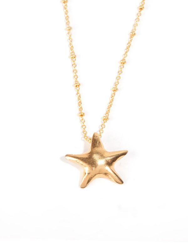 MOON gold pendant