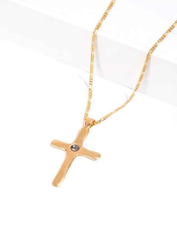 ANIMA gold pendant