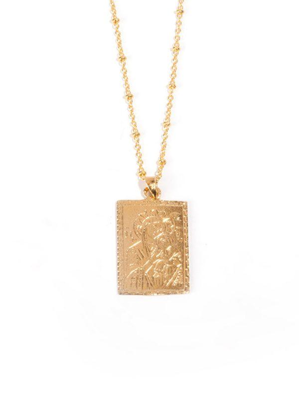 VIRGIN gold pendant