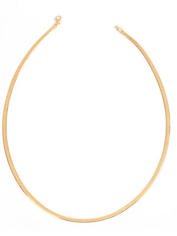 SARAH gold choker chain