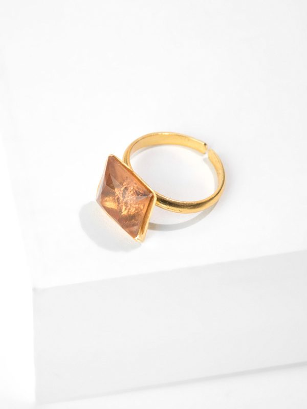 COFFE BAYgold ring