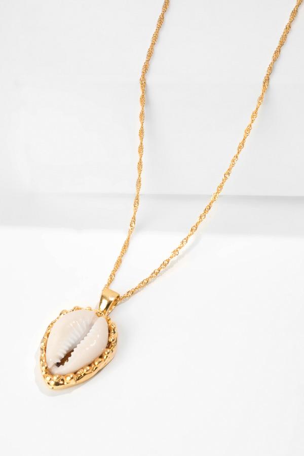 SALINE gold pendant