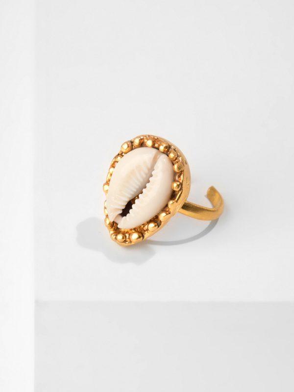 SALINE gold ring