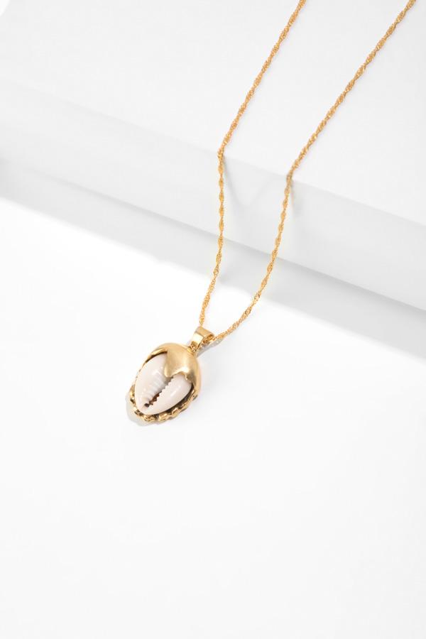 EL NIDO gold pendant