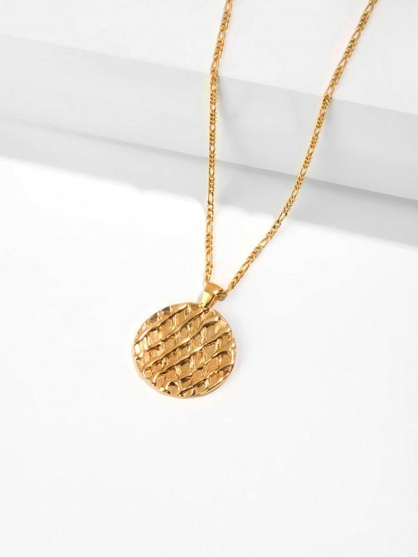 MAYA gold pendant