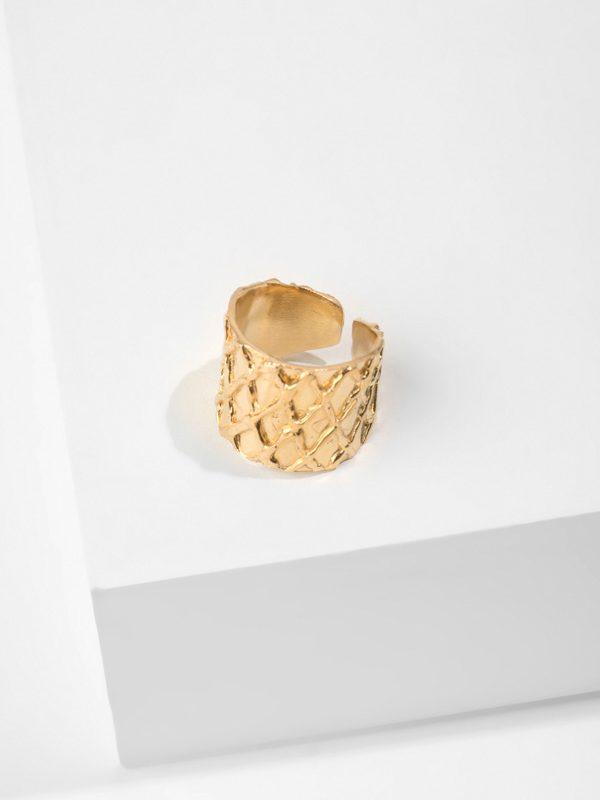 BALOS gold ring