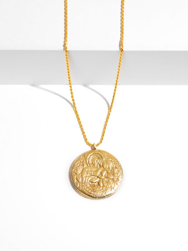 GRACE gold pendant