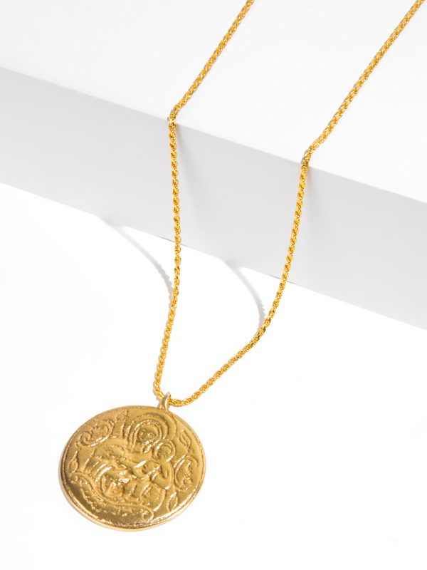 GRACE gold pendant