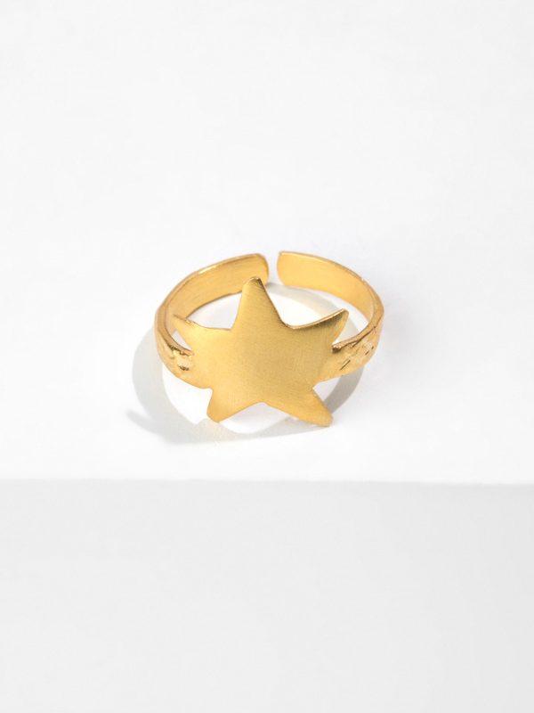 SKY BAY gold ring