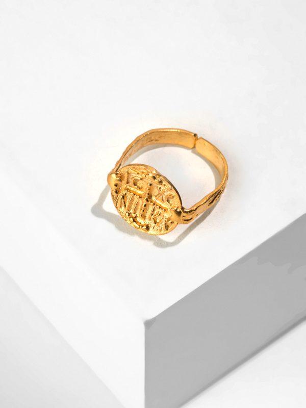 SERENITY gold ring