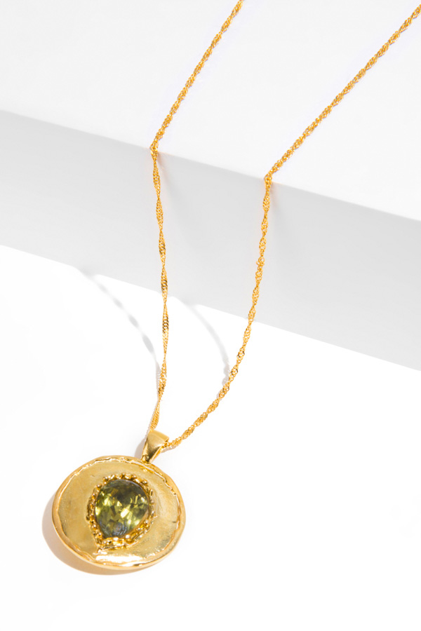 BYRON gold pendant