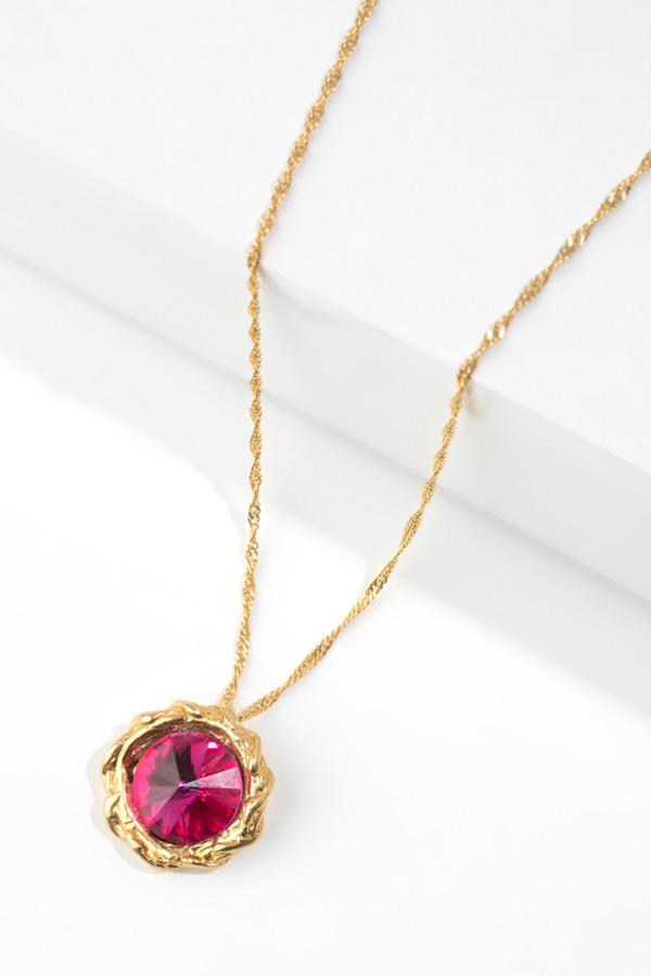 WAVE gold  pendant