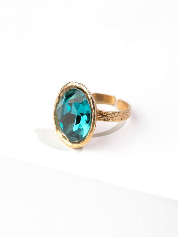PATHEM BEACH gold ring