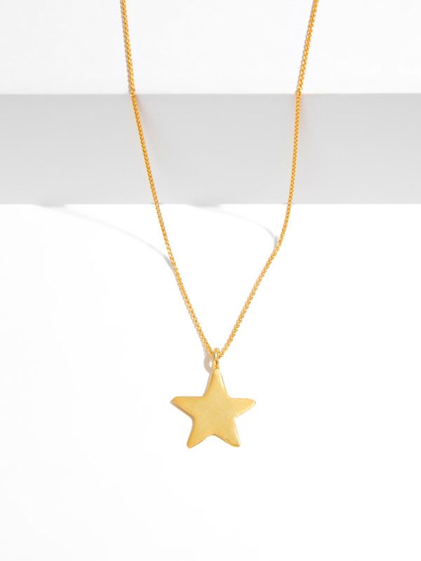 SKY BAY gold pendant