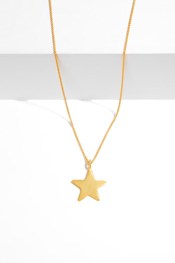 SKY BAY gold pendant